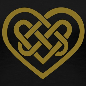 Celtic heart, symbol - infinite love & loyalty Women's T-Shirts - Women's Premium T-Shirt