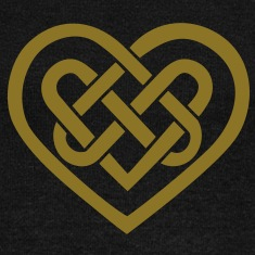 Celtic heart, symbol - infinite love & loyalty Long Sleeve Shirts