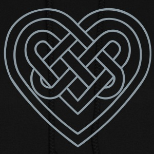 Celtic heart, symbol - infinite love & loyalty Hoodies - Women's Hoodie