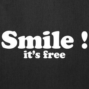 Smile it's free Bags & backpacks - Tote Bag