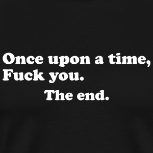 Once upon a time ... T-Shirts - Men's Premium T-Shirt