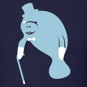 sir manatee T-Shirts - Men's T-Shirt