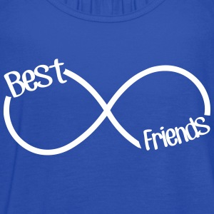Best Friends Infinity  Tanks - Women's Flowy Tank Top by Bella