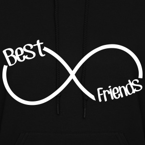 Best Friends Infinity  Hoodies - Women's Hoodie