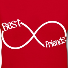 Best Friends Infinity  Women's T-Shirts