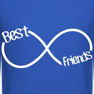 Best Friends Infinity  Long Sleeve Shirts - Crewneck Sweatshirt