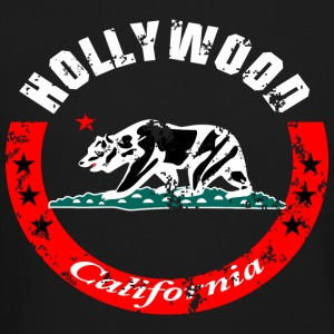 Hollywood California Long Sleeve Shirts - Crewneck Sweatshirt