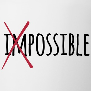 Impossible / Possible 2c Bottles & Mugs - Coffee/Tea Mug