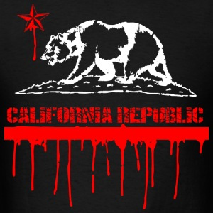 CALIFORNIA Republic Melting T-Shirts - Men's T-Shirt