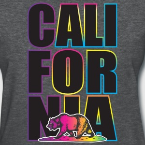 California Multi Colors Women's T-Shirts - Women's T-Shirt