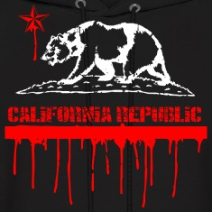 CALIFORNIA Republic Melting Hoodies