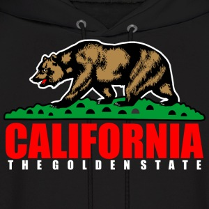 California The Golden State Republic Hoodies - Men's Hoodie