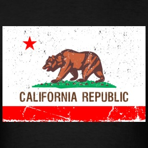 california Vintage Flag T-Shirts - Men's T-Shirt