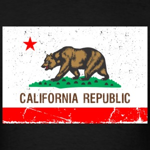 California Vintage Flag R&B T-Shirts - Men's T-Shirt