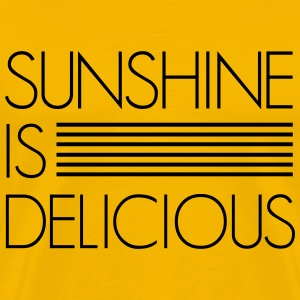 Sunshine is Delicious T-Shirts - Men's Premium T-Shirt