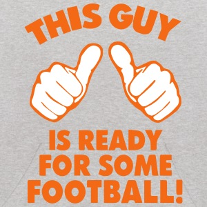 THIS GUY IS READY FOR SOME FOOTBALL! Sweatshirts - Kids' Hoodie