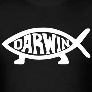 Darwin Fish T-Shirts - Men's T-Shirt