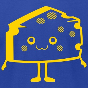 Kawaii-Designs: cheese T-Shirts - Men's T-Shirt by American Apparel