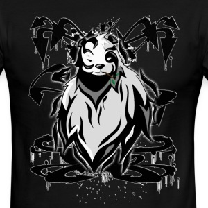 Graffiti Panda Concept T-Shirts - Men's Ringer T-Shirt