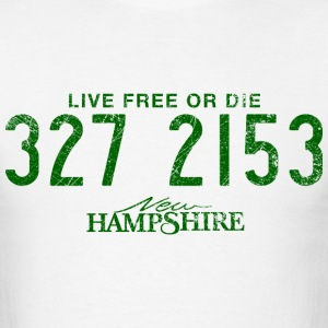 New Hampshire - Live Free or Die - Men's T-Shirt