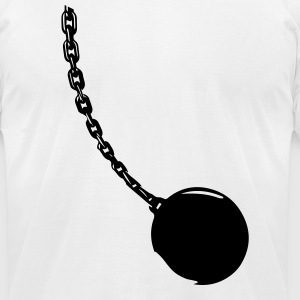 Wrecking ball image T-Shirts - Men's T-Shirt by American Apparel