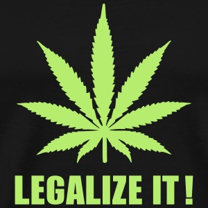 Marijuana Legalize it T-Shirts - Men's Premium T-Shirt