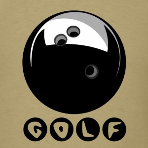Bowling Ball  GOLF T-Shirts - Men's T-Shirt