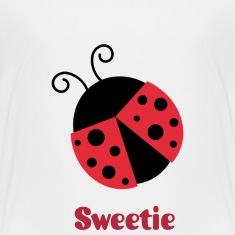 cute ladybug Baby & Toddler Shirts