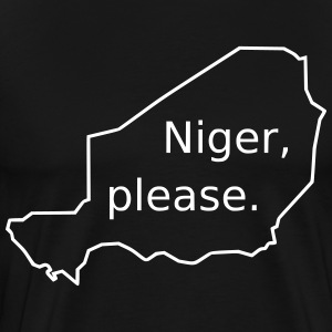 Niger, please. - Men's Premium T-Shirt