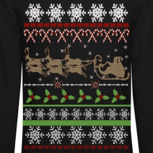 Ugly Christmas Sweater Inspired Long Sleeve Shirts - Crewneck Sweatshirt