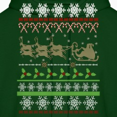Ugly Christmas Sweater Inspired Hoodies