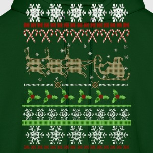 Ugly Christmas Sweater Inspired Hoodies - Men's Hoodie