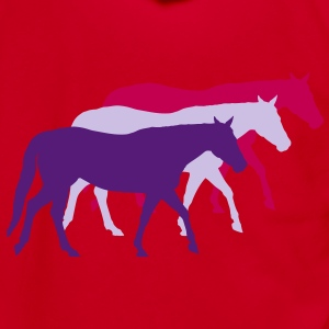 Horse Zip Hoodies & Jackets - Unisex Fleece Zip Hoodie by American Apparel
