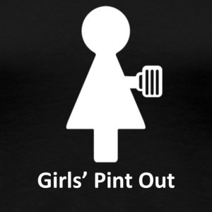 Girls' Pint Out Standard T-Shirt - Women's Premium T-Shirt
