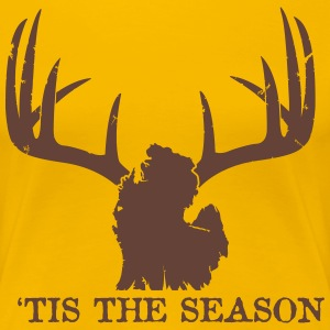 2013 Michigan Deer Hunting Season Official Shirt Women's T-Shirts - Women's Premium T-Shirt