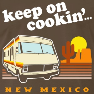 Funny! Keep on Cookin'... New Mexico - Men's Premium T-Shirt