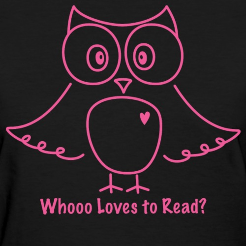 Whooo Loves to Read Pink Owl