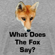 Design ~ What Does The Fox Say - Female Shirt