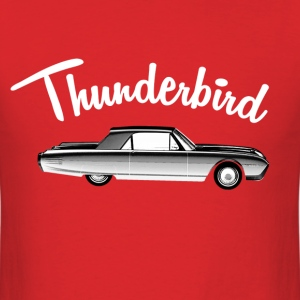 thunderbird car - Men's T-Shirt
