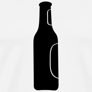 bottle, Bottles, beverages, glass bottle, alcohol T-Shirts - Men's Premium T-Shirt