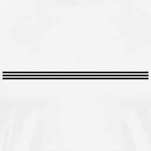 three lines, 3 lines, three-way, line, 3, three T-Shirts - Men's Premium T-Shirt