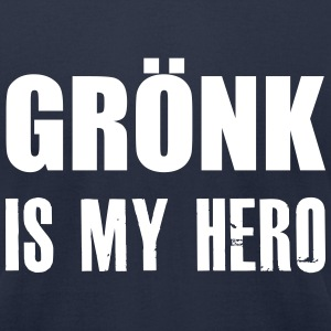 Gronk Is My Hero Gronkowski T-Shirts - Men's T-Shirt by American Apparel