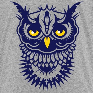Face of an owl Kids' Shirts - Kids' Premium T-Shirt