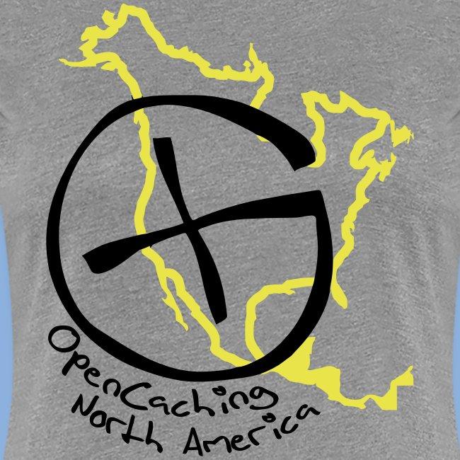 OCNA Logo Women's Premium T-Shirt Gray