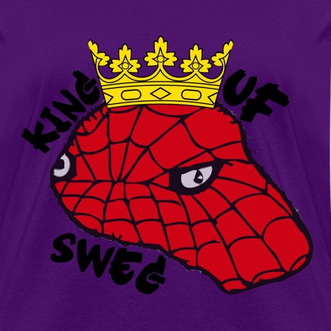 """Spodermen """"KING OF SWEG"""" T-Shirt (Women's)"""