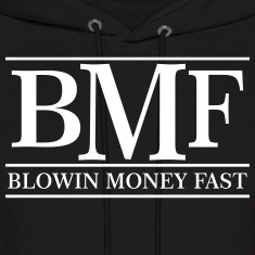 blowin money fast Hoodies