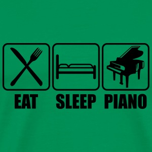 Eat Sleep Piano Logo T-Shirts - Men's Premium T-Shirt