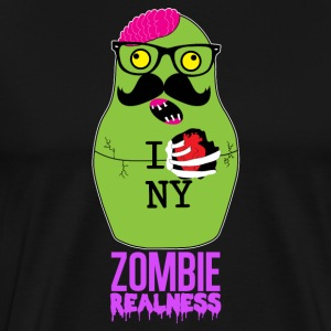 Zombie Realness - Men's Premium T-Shirt