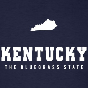 Kentucky Shape T-Shirts - Men's T-Shirt