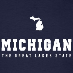 Michigan Shape T-Shirts